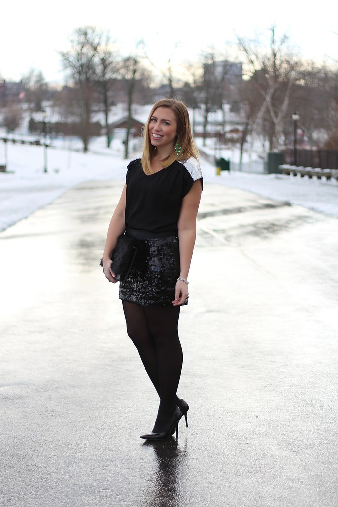 Living After Midnite: Outfit: NYE Luxe with Galian
