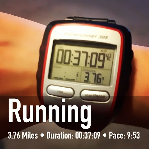 Look! Faster than a 10 minute mile!!! Finally! #running #fitsnap