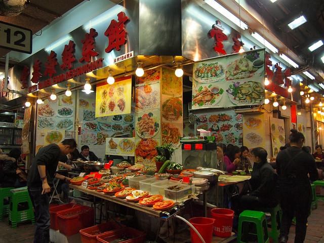 Temple Street Night Market, Hong Kong