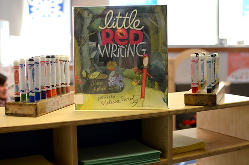 Little Red Writing by Joan Holub and Melissa Sweet.