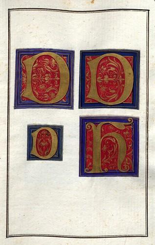 007-Álbum de las iníciales medievales-fol 33r- Biblioteca Nacional de Polonia