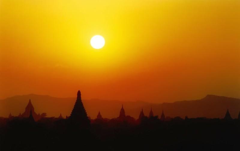 Bagan Sunset, Burma