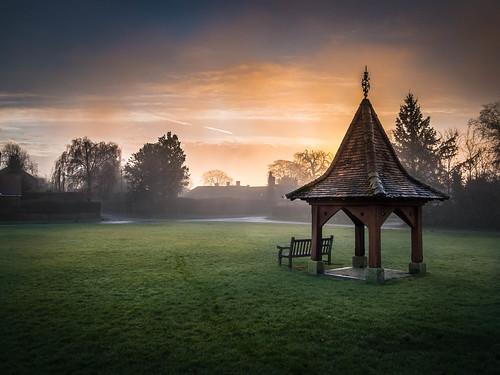 london fog sunrise lumix olympus hampshire omd lightroom m43 14mm em5 hannington lr4 microfourthirds pwwinter
