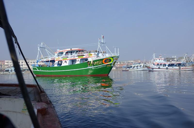 Ras El Bar boat 2