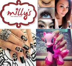 Milly's Nails . Hair . Lash Extensions