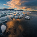 Jökulsárlón Lagoon, Iceland. by Kirk Norbury Photo