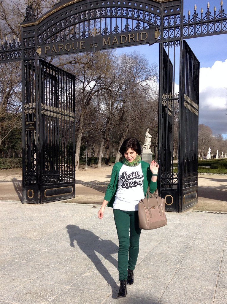 Parque del Buen Retiro, Madrid, España - OOTD - Outfit of the day