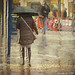 Rain and roadworks by Lemon~art