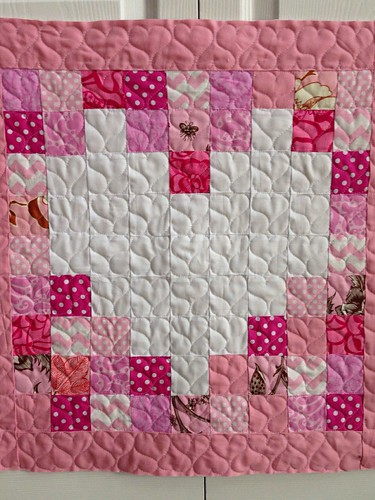 Heart quilting by CreativeReveries