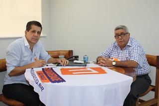 José Aparecido de Amorin, pré-candidato a estadual, tem reunião com presidente estadual do Solidariedade-SP
