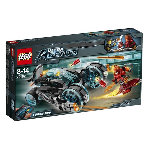LEGO Ultra Agents 70162 Front