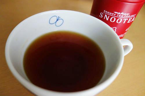 スヌーピーお茶3