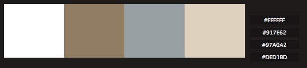 Color Palette Of The Week Zen Garden