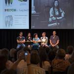 Matthijs Guichelaar (Vandebron), Hasmik Matevosyan, Petra van Tiggelen (SAM), Jelle Daalderop (SAM), Mark Slegers (RotterZwam)
