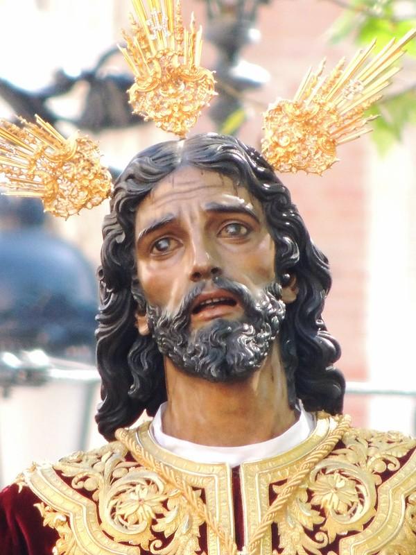 Nuestro Padre Jesús de la Victoria en la Plaza Nueva
