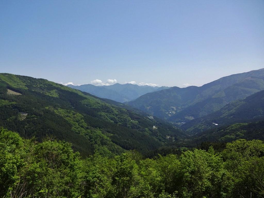 京柱峠からの眺め