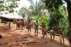 Embera Indian Welcoming Committee
