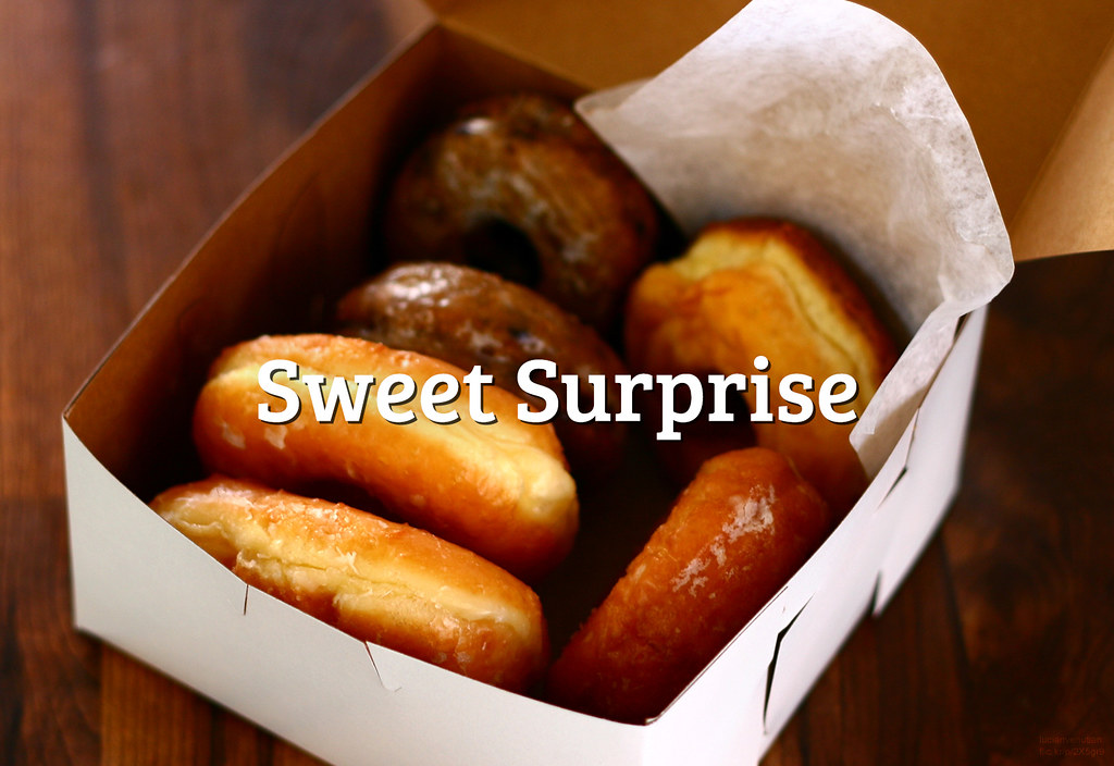 #FlickrFriday: #SweetSurprise | Today is Day of the Donut, and we want to celebrate this with our new theme. Take photo of a donut or another sweet surprise and share it with the Flickrverse!
