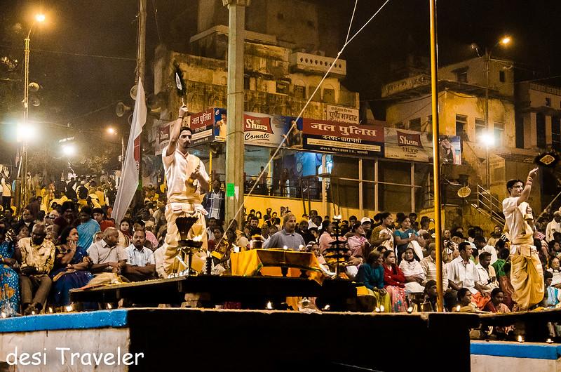 Ganga Aarti Benaras Varanasi