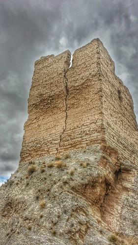 Torre castillo de Maluenda procesada con Snapseed