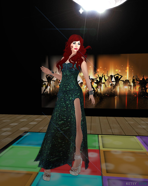 I Love The Nightlife - NEW Post @ Second Life Fashion Addict