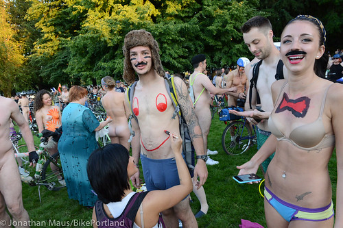 2014 World Naked Bike Ride -22