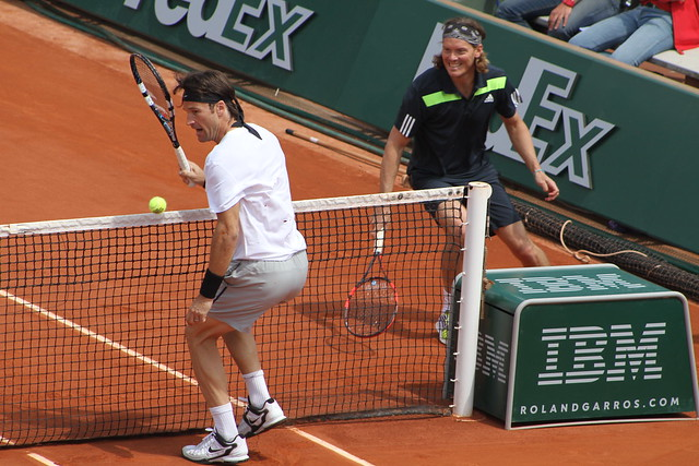 Carlos Moya and Thomas Enqvist