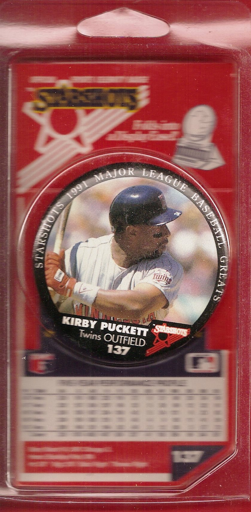 1991 Starshots Badge (Puckett)