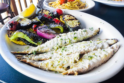 Sea Bass and Vegetables