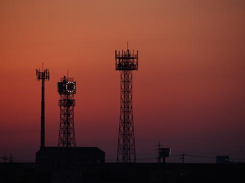 japan industrial dusk olympus fukuoka signal omd kitakyusyu 40150mm f456 em5 mzuiko dokaibay