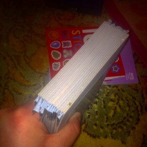 Sloppy binding #makebooks
