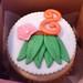 Hula jumbo cupcake - <span>©CupCakeBite www.cupcakebite.com</span>