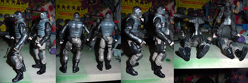 """NINJA TURTLES"" Movie :: FOOT SOLDIER  { tOKKustom PARAMILITARY wash } iii // ..with standard FOOT SOLDIER  (( 2014 ))"