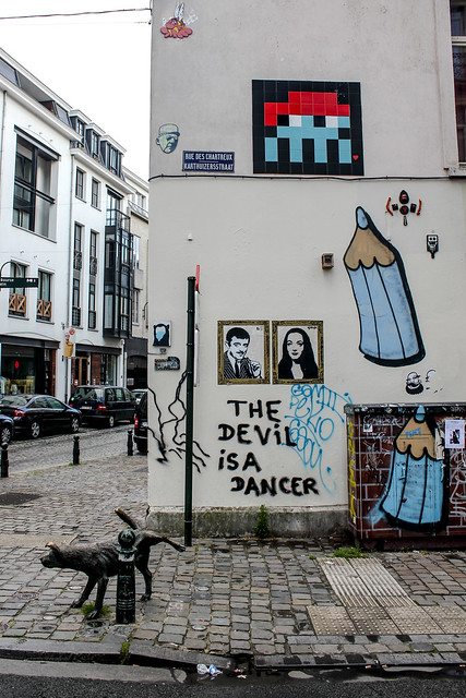 Zinneke Pis en Bruselas