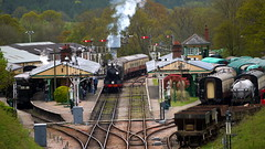 Horsted Keyes and the Bluebell Railway