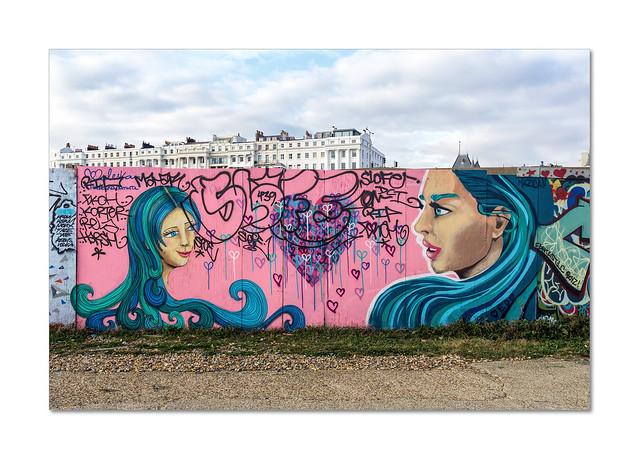 Street art at Black Rock