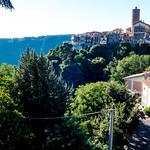 Panorama del Borgo con Palazzo Ruspoli