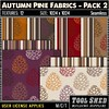 Tool Shed - Autumn Pine Fabrics - Pack 2 Ad