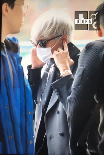 TOP Departure Seoul to Tokyo 2016-11-03 (10)