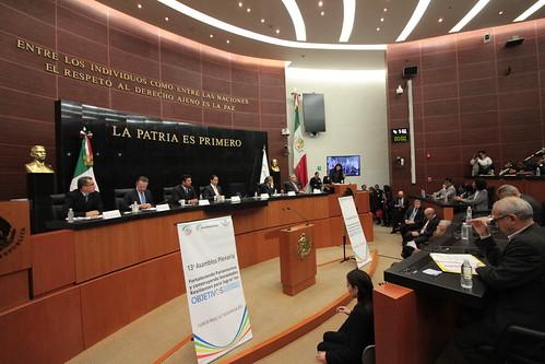 El día 6 de diciembre del 2016 se llevó a cabo en elSenado de la República el 41° Reunión del Consejo de Parlamericas y 13ª. Asamblea Plenaria: Fortaleciendo parlamentos y construyendo sociedades resilientes para lograr los objetivos de desarrollo sostenible.