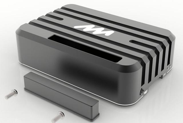 Mechatronicsart boitier aluminium pour Raspberry Pi 3