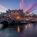 Papiermolensluis Amsterdam by Mario Visser