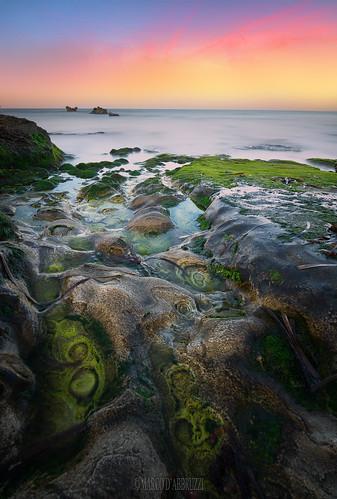 Sunrise on the rocks...