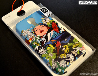(Phone Case) Blossom woman for SAMSUNG Galaxy S4