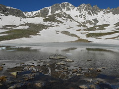 Fletcher Reflected in Lakes at 12,550 ft