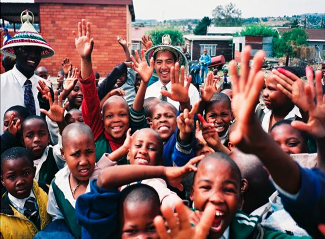 Children in Lesotho