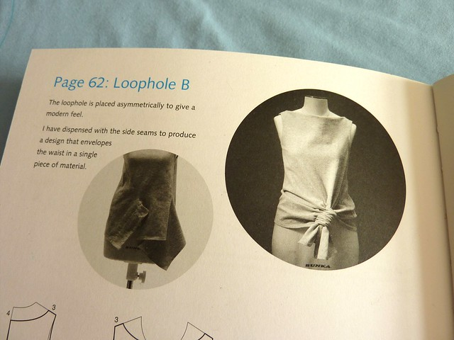 LOOPHOLE B: Top from 'Pattern Magic: Stretch Fabrics' book by Tomoko Nakamichi