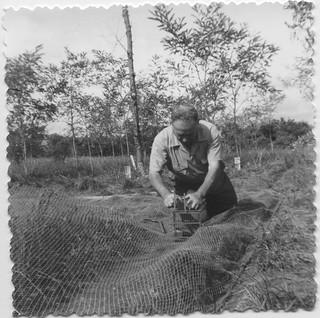 1962 - Etienne Menjoulet, chasse à l'Ortolan
