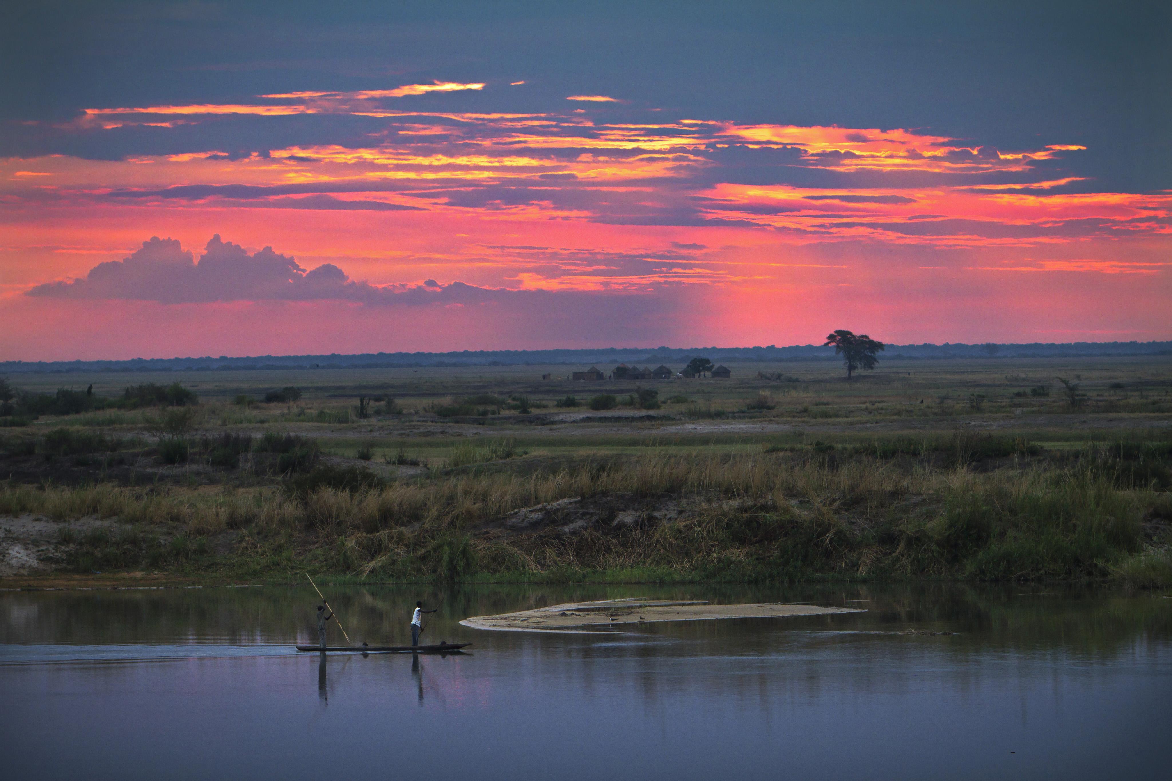 Night shift fishermen, Mongu, Western Zambia. Photo by Felix Clay/Duckrabbit, 2012.