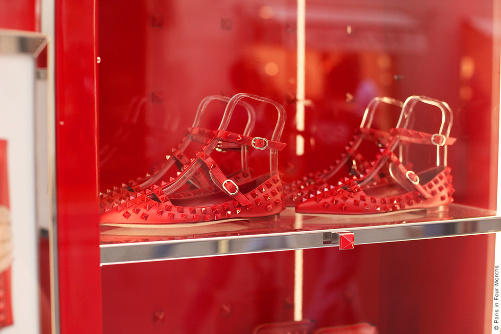 Valentino's Display Window in Rome